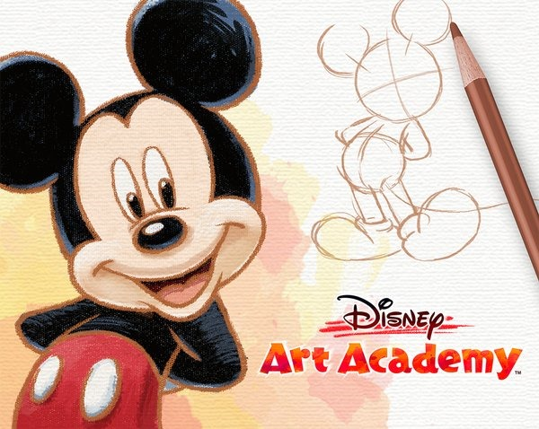 Disney Art Academy Arriva su 3DS