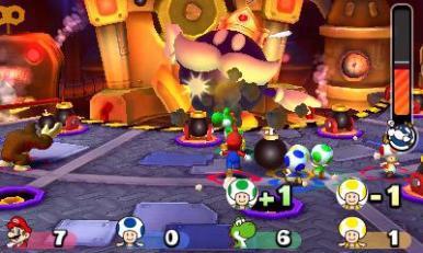 Presentazione di Mario Party Star Rush all'E3 3