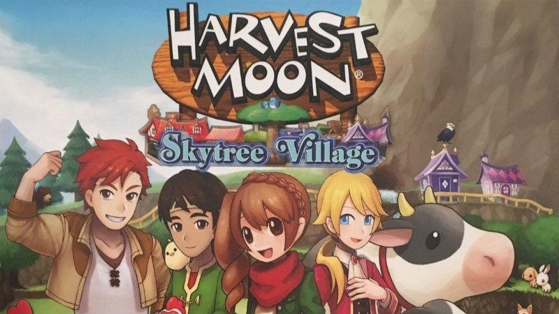 10 Minuti di Harvest Moon Skytree Village