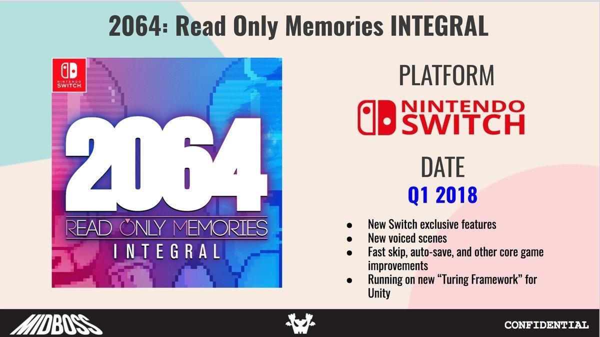2064 Read Only Memories Arriva su Nintendo Switch