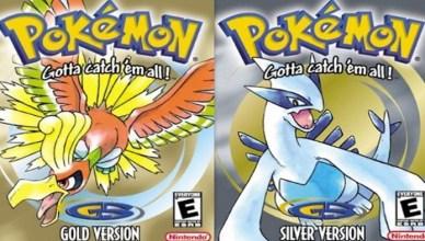 Pokémon Gold e Silver Nintendo 3DS