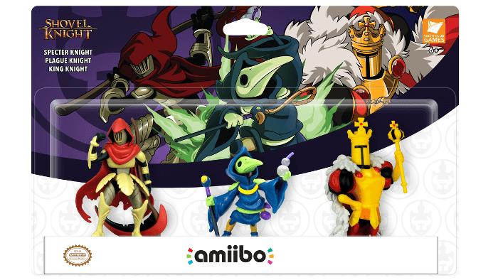 Tre nuovi Amiibo: Specter Knight, Plague Knight e King Knight