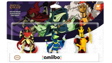 Specter Knight, Plague Knight e King Knight Amiibo Nintendo 3DS
