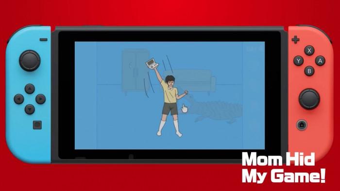 Mom Hid My Game! Arriva su Nintendo Switch il 21 Dicembre
