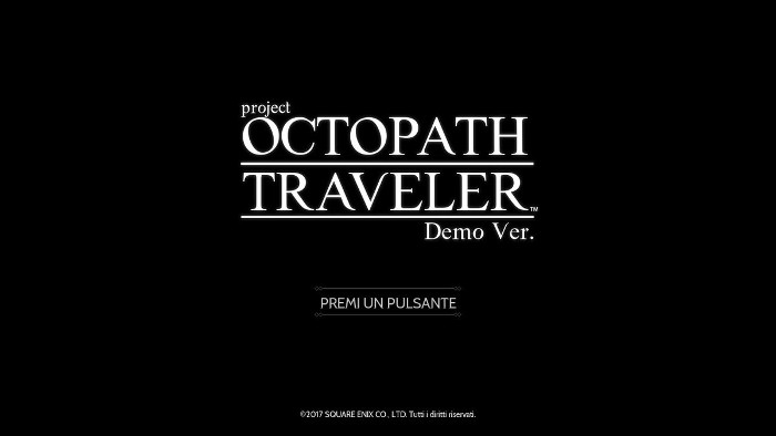 project OCTOPATH TRAVELER – Un Interessante RPG