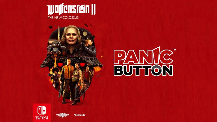 Panic Button Sta Lavorando al Porting di Wolfenstein II The New Colossus per Nintendo Switch