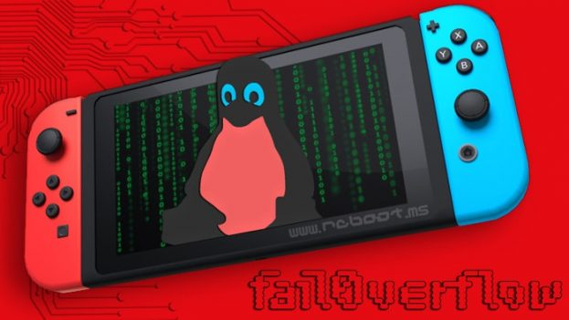 Fail0verflow GNU Linux su Nintendo Switch