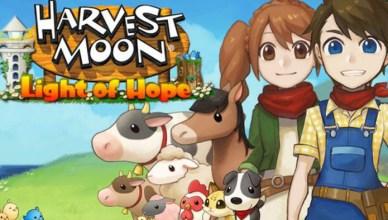 Harvest Moon Light of Hope Nintendo Switch