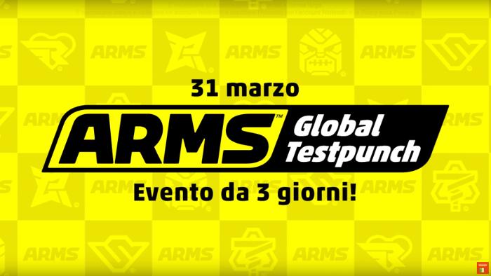 ARMS Global Test Punch dal 31 Marzo per Provare il Gioco Gratis