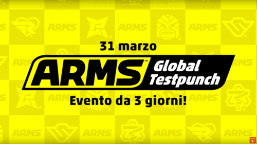Arms Global Test Punch Nintendo Switch