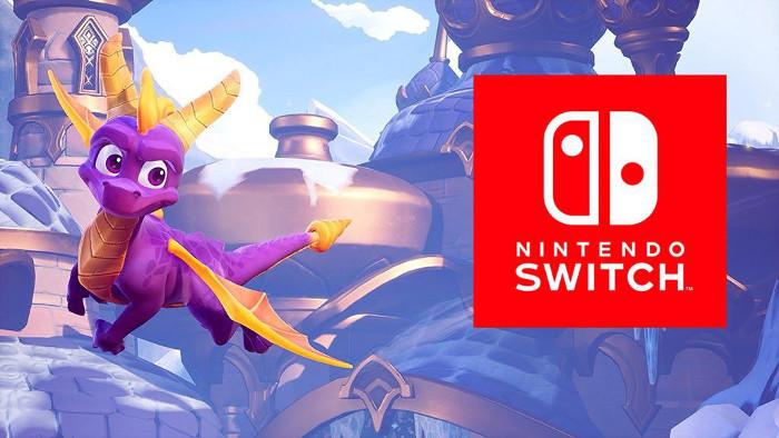 Spyro Reignited Trilogy Potrebbe Essere Stato Rivelato per Errore per Nintendo Switch