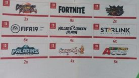 Fortnite Dragon Ball FighterZ Killer Queen Black Paladins Overcooked 2 Nintendo Switch E3