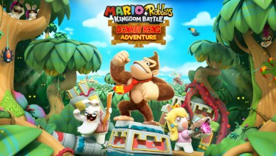 Mario + Rabbids Kingdom Battle Donkey Kong Adventure Nintendo Switch