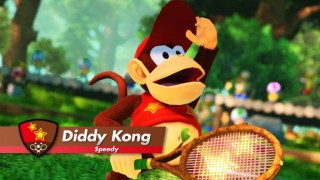 Diddy Kong Mario Tennis Aces Nintendo Switch