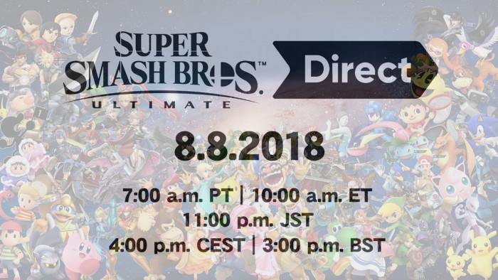 Tutte le Novità Annunciate Durante la Diretta su Super Smash Bros. Ultimate