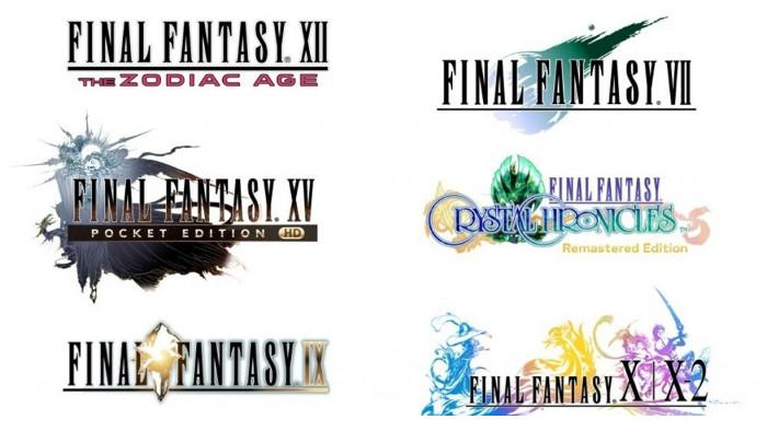 Un Infinità di Final Fantasy per Nintendo Switch