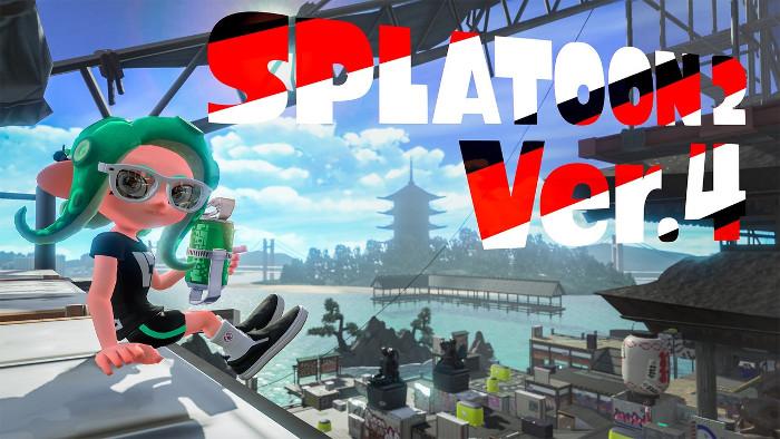 Arriva la Versione 4.0.0 di Splatoon 2