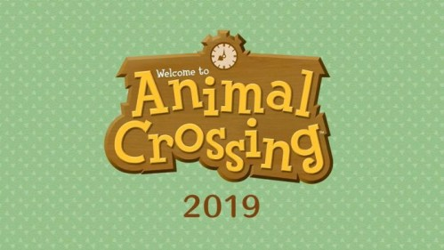 Welcome to Animal Crossing Nintendo Switch