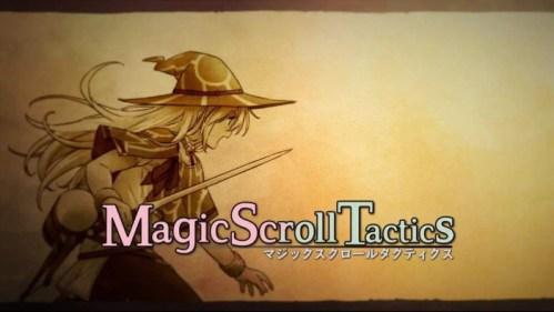 Magic Scroll Tactics Nintendo Switch