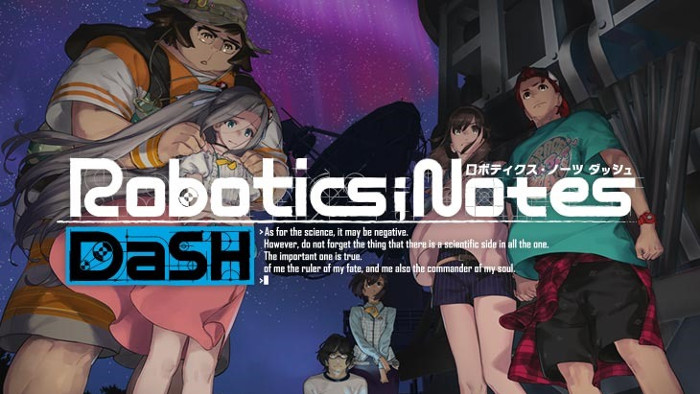 Trailer di Robotics;Notes DaSH Presenta Kaito Yashio