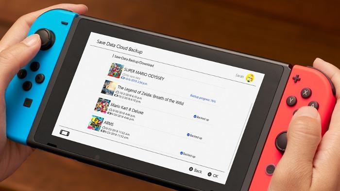 Dettagli sul Servizio di cloud dei Dati di Salvataggio per Nintendo Switch