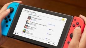 servizio di cloud dei dati di salvataggio Nintendo Switch