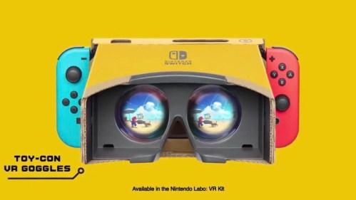 The Legend Of Zelda: Breath Of The Wild Super Mario Odyssey Nintendo Labo VR Nintendo Switch