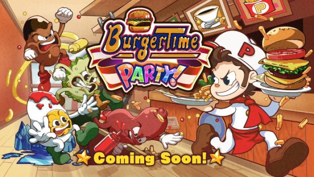 BurgerTime Party Nintendo Switch