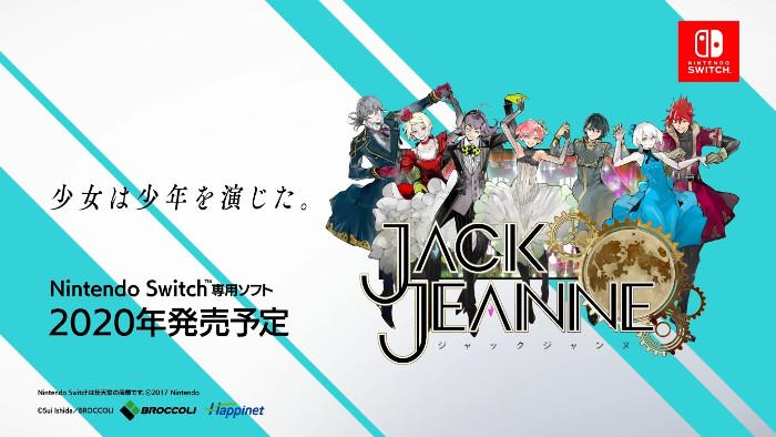 Jack Jeanne Arriverà su Nintendo Switch nel 2020