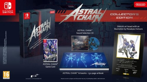 Astral Chain Collector's Edition Nintendo Switch