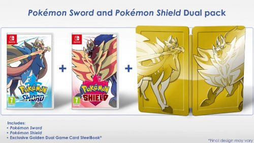 Pokémon Sword e Pokémon Shield Dual Pack Nintendo Switch