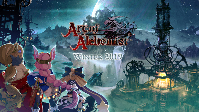Arc of Alchemist Arriva in Occidente a Gennaio