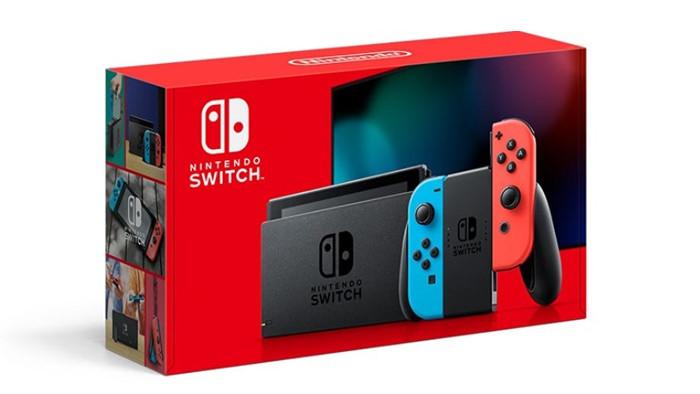 Nuovo Modello con Batteria più Longeva per Nintendo Switch
