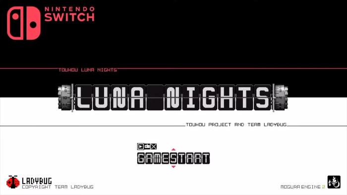 Touhou Luna Nights Nintendo Switch