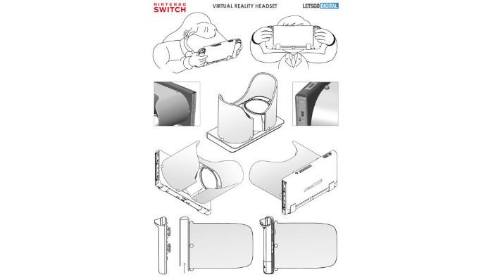 Nintendo Avrebbe Registrato un 3D Image Display System per Nintendo Switch