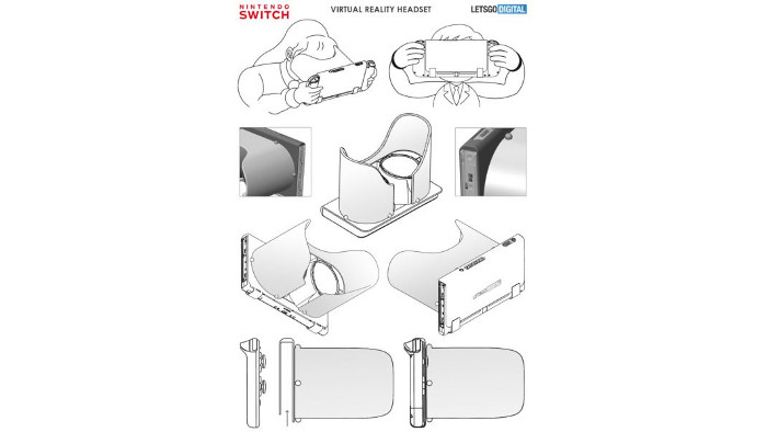 3D Image Display System Nintendo Switch