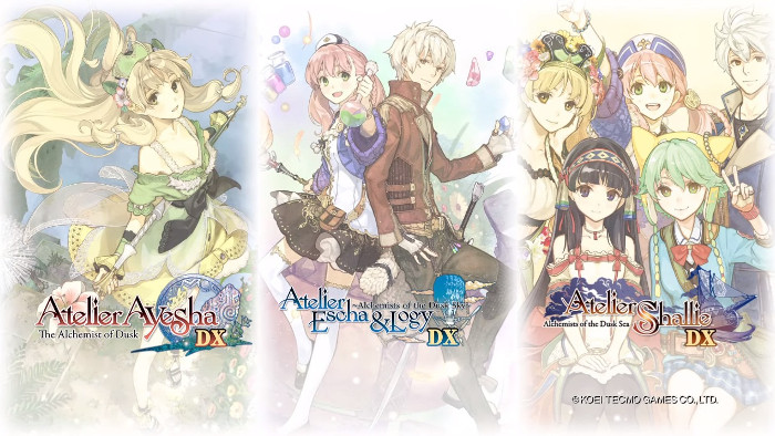 Nuovo Trailer di Atelier Dusk Trilogy Deluxe Pack