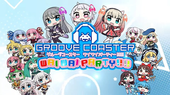 Groove Coaster: Wai Wai Party Arriva su Nintendo Switch