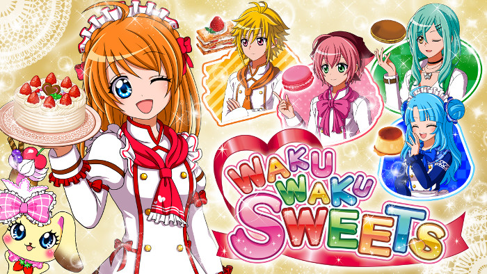 Waku Waku Sweets Arriva in Occidente in Inverno