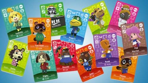 Animal Crossing Amiibo Cards Nintendo Switch