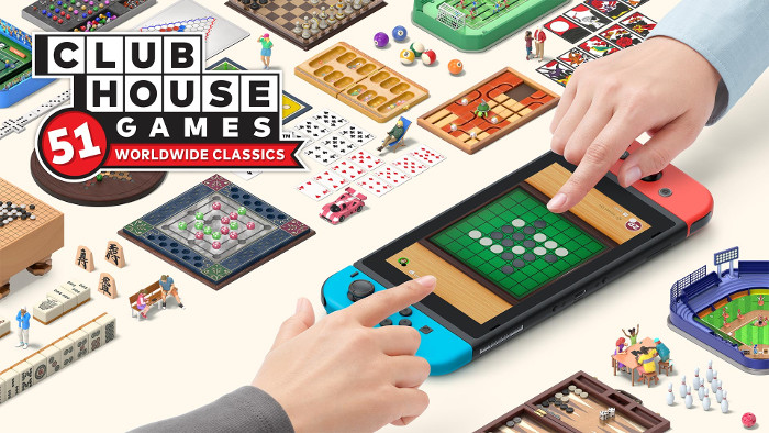 Applicazione Free per Giocare a Clubhouse Games: 51 Worldwide Classics in Multiplayer Locale