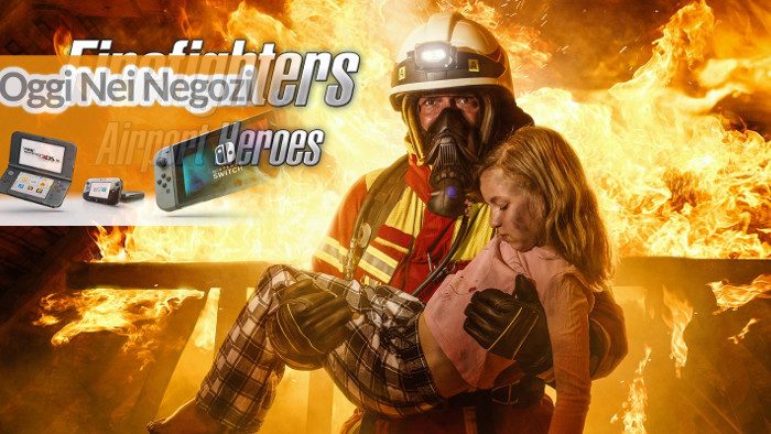 Oggi Nei Negozi: Firefighters – Airport Heroes