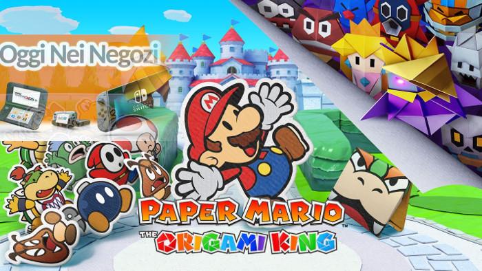 Oggi nei Negozi: Paper Mario: The Origami King