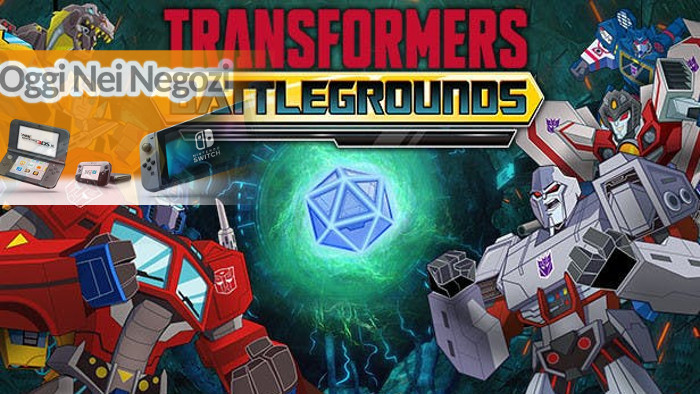 Oggi nei Negozi: Transformers: Battlegrounds