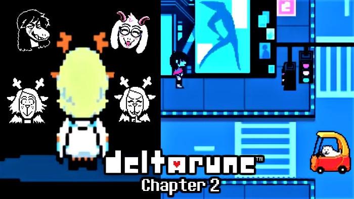 Fase di Progettazione di Deltarune Chapter 2 Completa al 100%