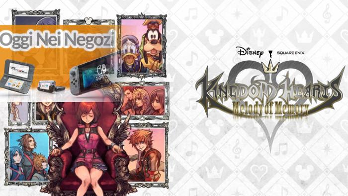 Oggi nei Negozi: Kingdom Hearts: Melody of Memory