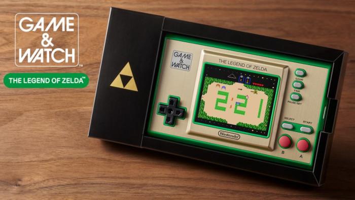 Annunciato Game & Watch The Legend of Zelda
