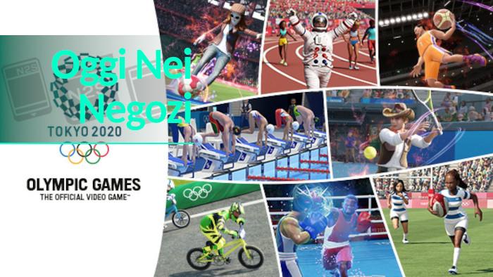 Oggi nei Negozi: Giochi olimpici di Tokyo 2020 – Il videogioco ufficiale Nintendo Switch