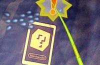 ar card on blue