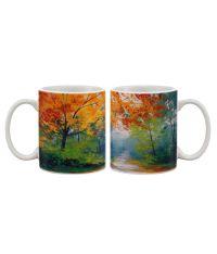 Artifa Marble Colourful Art Coffee Mug: Buy Online at Best ...